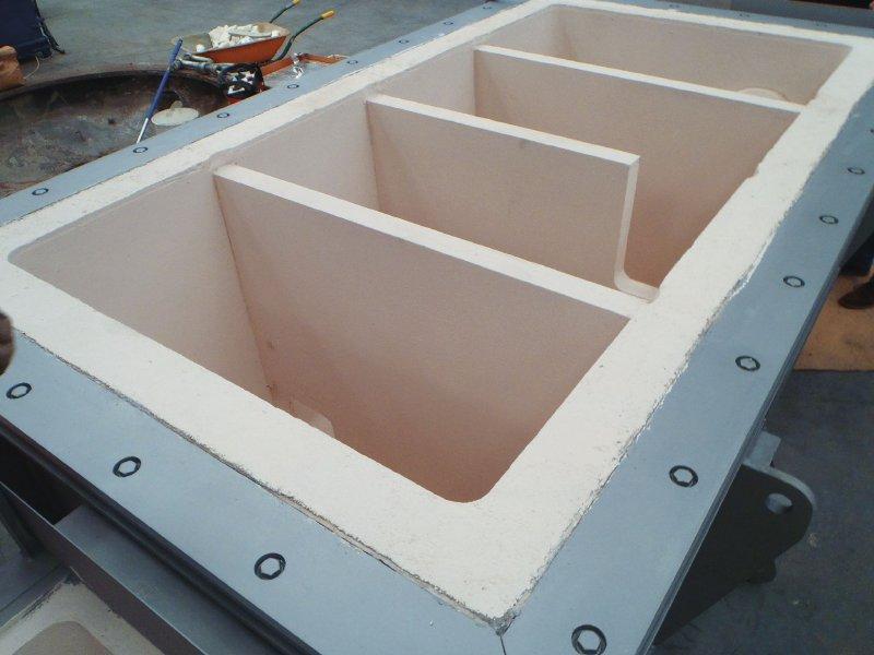 Cucharas en fundición de aluminio