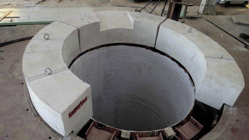 Horno inducción de crisol en fundición de aluminio