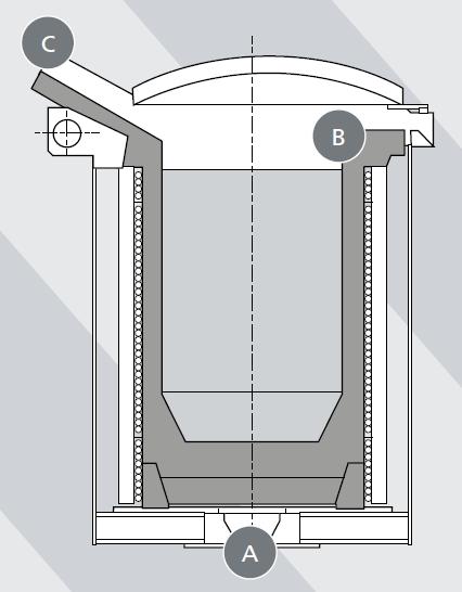 Piezas prefabricadas hierro