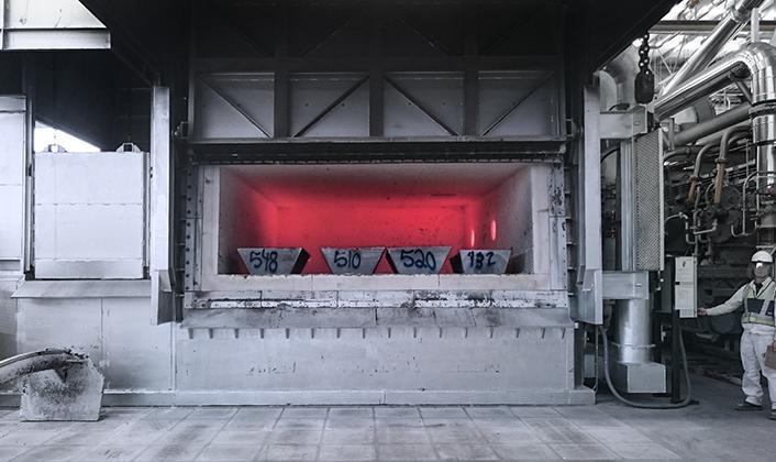 Horno reverbero doble cámara (Sidewell)